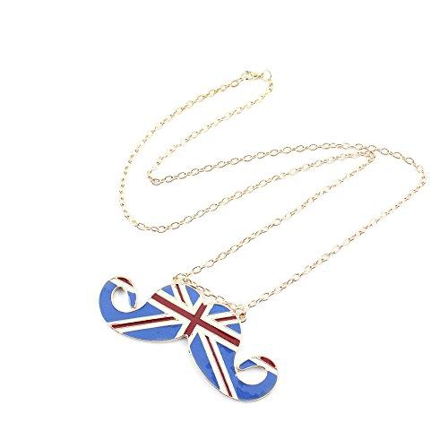 british mustache necklace - 4