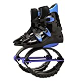 XHJL Botas de Salto para Correr Zapatillas de Salto Antideslizantes Ajustables Zapatillas de Entrenamiento para Adelgazar, Zapatillas de Salto para Adultos, niños, niñas (XL)