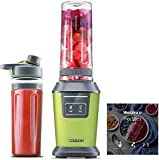 Willsence Blender Personal Smoothie Blender(Recipe Book Included), 700 Watts Intelligent Nutri-iQ...