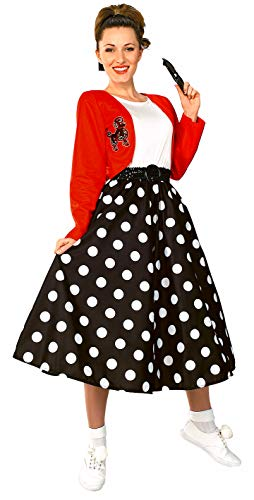 Rubie's Fabulous 50's Polka Dot Sock Hop Girl, Multicolored, One Size Costume