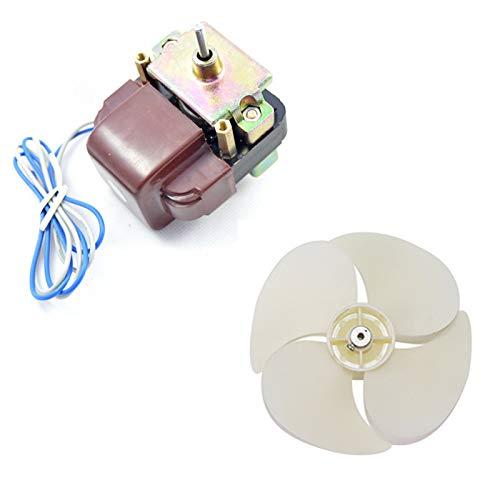 XU-XINGFU XXF-Bx, Frigorífico Congelador Vitrina la Paleta del Ventilador de refrigeración del Motor en Forma for SANYO Motor IS3215EAB A000724 220V 4W refrigerador