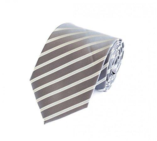 Krawatte von Fabio Farini in grau