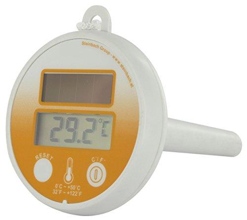 Steinbach Digital Solar Schwimmthermometer, Ø 75 mm, 061330