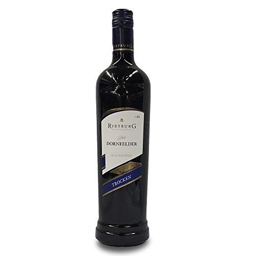 Rietburg Dornfelder Wein trocken mit 11,5% Vol. (0,75l Flasche)