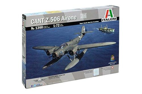 Italeri 1360 - Cant Z 506 Airone 'Historic Upgrade' Model Kit  Scala 1:72