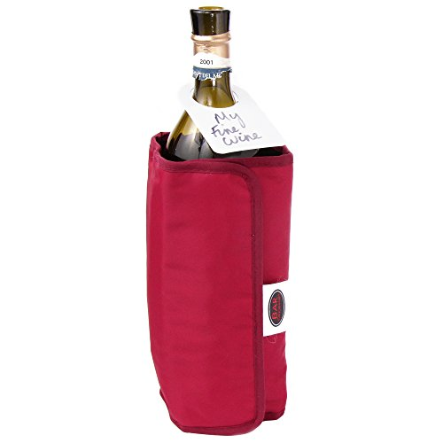 Vinology Dual Wrap Wine Champagne and Prosecco Bottle Chiller Cooler and Warmer