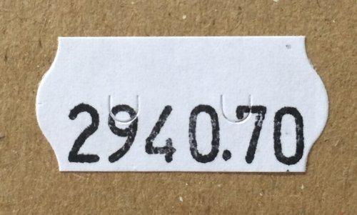 PrinterLabels AS Etikettenrollen permanent wei/ß Maxipack = 36 Rollen