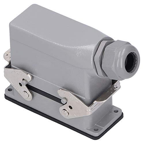 Conector AC/DC, 16 contactos, macho, hembra, adaptador, lateral, exterior, impermeable, enchufe de aviación, enchufe 500V 16A
