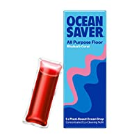 Oceansaver Cleaning EcoDrop | All Purpose Floor Cleaner | Rhubarb Coral | Eco Friendly Cleaning Product (1 Pack)