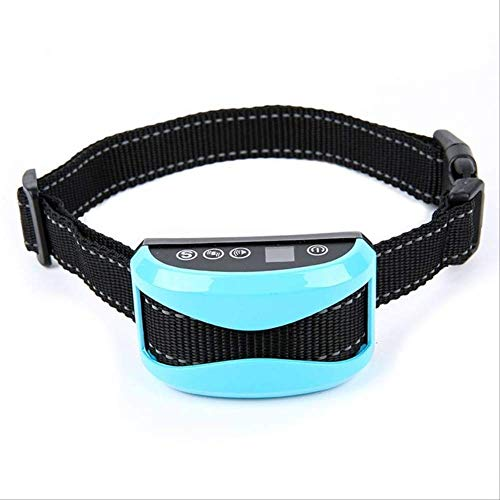 WYJW Dog Collar Small Dog Bark Collar Hot Pet Dog Waterproof Rechargeable Anti Bark Collar Adjustable 7 Sensitivity Levels Vibration Stop Barking Dog Training Collars L1
