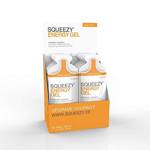Squeezy Energy Gel Box, 12 Beutel à 33 g, Gemischte Geschmäcker