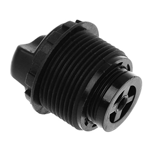 Ranuw Bicycle Front Fork Lock Cap Knob Preload Adjustable MTB Bike Cycling PartsTools (Black)