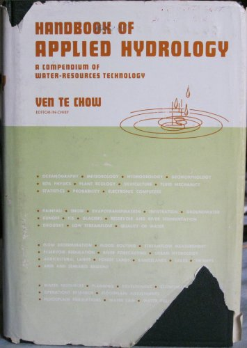 Handbook of Applied Hydrology: A Compendium of Water-resources Technology