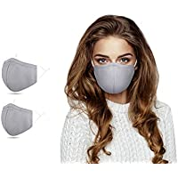 2-Pack Adjustable Reusable Face Masks
