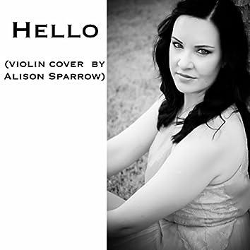 Hello (violin cover)