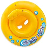Shopeum Inflatable Baby Float Ring Swimming Pool Toys Tube Raft for Babies, Stuff & Toddlers Kids...