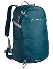 Mid-sized versatile backpack for hiking and daily use Comfortable, ventilated mesh back Modern daypack design Eco-friendly manufacturing