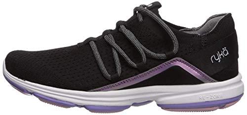 Ryka Women's Devotion Flex Walking Shoe, Black, 9 M US