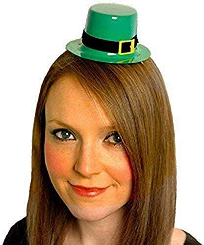 6 X Mini St.Patricks Day Kobold Damen Verkleidung Top Hut Irisch Kostümzubehör
