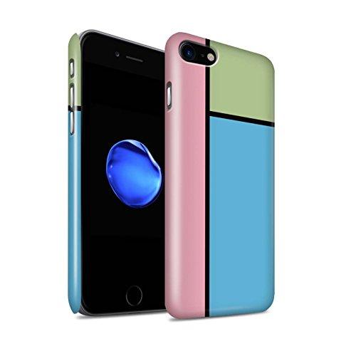 Stuff4 Telefoonhoesje/Cover/Skin/IP-3DSWG / Pastel Tegels Collectie Apple iPhone SE 2020 3 Tegels/Blauw