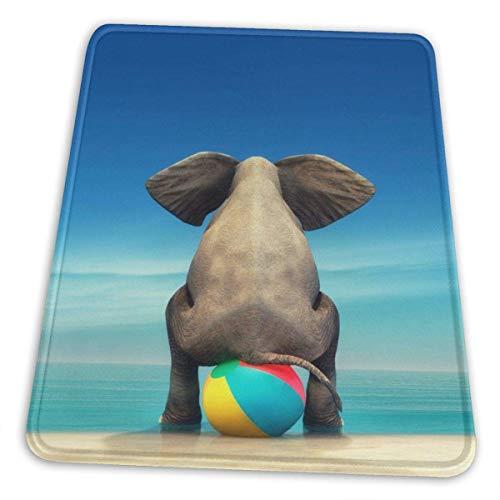 Gaming-Mauspad - Elephant Ball Rectangle Rubber Mousepad - Mausmatte für die Geschenkunterstützung Kabelgebundene drahtlose oder Bluetooth-Maus