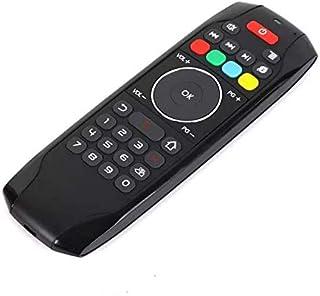 Android TV BOX/UBOX/Amazon Fire TV 対応 2.4GHz 無線 エアマウス テンキー付きリモートコントローラー G7(赤外線リモコン学習機能付き)(USB接続)