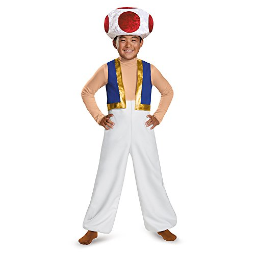 Official Nintendo Super Mario Toad Costume for Kids