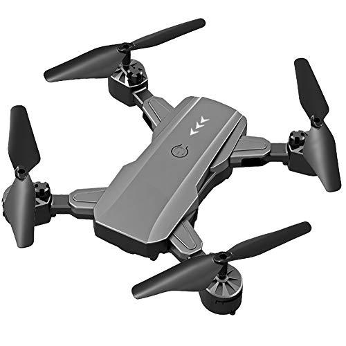 WiFi FPV Drone avec caméra HD 4K 1080P RC Pliant Drone Altitude Mode Attente RC Helicopter Avion Facile à Fly pour Les débutants, Gris,1080P