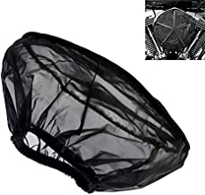 IPOTCH Waterproof Rain Sock Cover for Harley Motorcycle Air Intake Filter Wrap Protector Air Filter Cleaner Protective Cover Cap