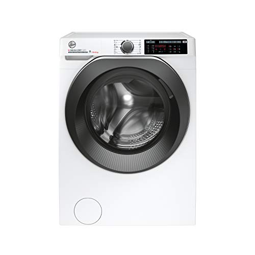 Hoover H-Wash 500 HDD 4106AMBC Free Standing Washer Dryer, Care Dose, A Rated, 10 kg/6 kg, 1400 rpm, White