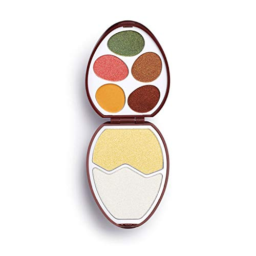 I Heart Revolution - Lidschattenpalette - Face And Shadow Palette - Easter Egg - Chocolate