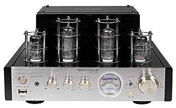 monoprice 50 watt stereo hybrid tube amplifier