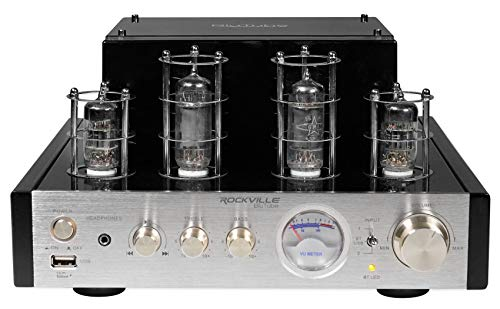 Rockville BluTube 70W Tube Amplifier/Home Theater Stereo Receiver with Bluetooth