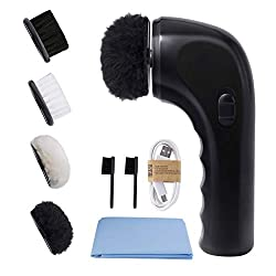 commercial Electric Shoe Cleaning Set, Electric Shoe Brush Sansent Vacuum Cleaner Portable for Cleaning Shoes … electric shoe shiner