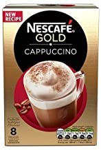 Nescafe Instant Cappuccino in Individual Pockets 3 Packs