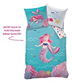 Sirena Chica Ropa de Cama de Franela · Cama Infantil · Mermaid Magic Moments · kuschelige...