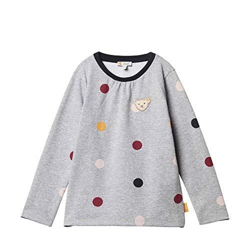Steiff Baby-Mädchen Sweatshirt, Grau (QUARRY 9007), 86 (Herstellergröße:86)