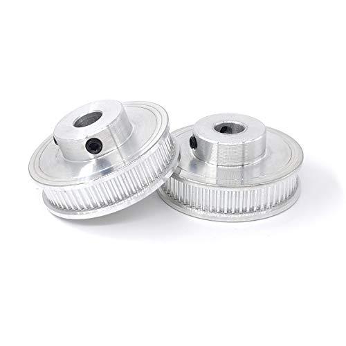 ICQUANZX GT2 60 Dientes 8mm Diámetro de Aluminio Polea de ...