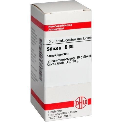 SILICEA D30 Globuli 10g DHU 2106139