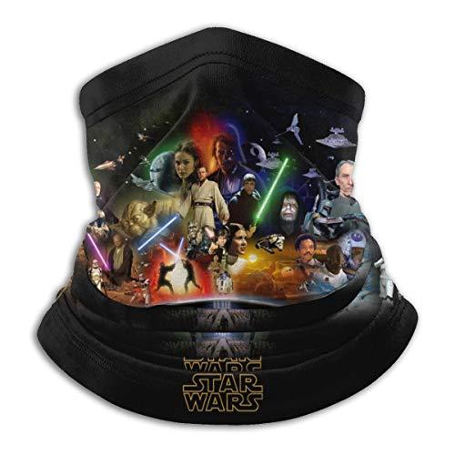 Star Wars Multifunction Face Mask Bandana Neck Gaiter for Sports Balaclavas Black