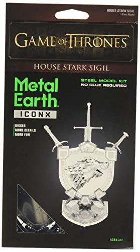 Professor PUZZLE Game of Thrones Metallerde, Haus Stark Sigil
