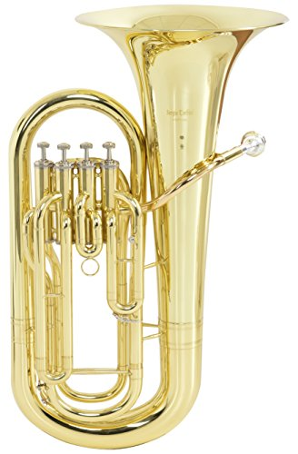 SERGIO TORDINI Euphonium 4 Pistons with carrying case Wind Instrument - STEP1140L