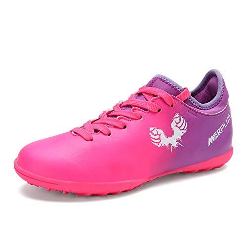 CXQWAN Jongens Meisjes TF Voetbal Sneakers, Anti-lip Tiener Professionele Voetbal Training Schoenen Kinderen 'Wear-Resistant Outdoor Voetbal Laarzen