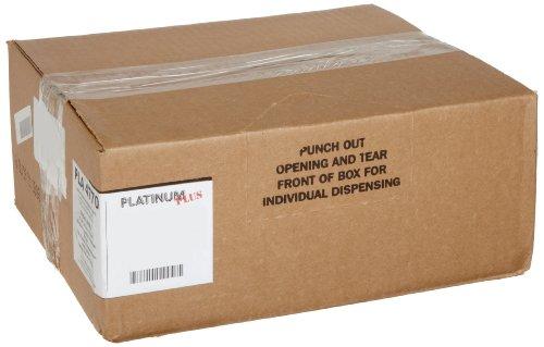 Platinum Plus PLA4070 Super Hexene Resin Can Liners, 31-33 gallon, 1.35 Mil, 33 x 40 (Case of 100)