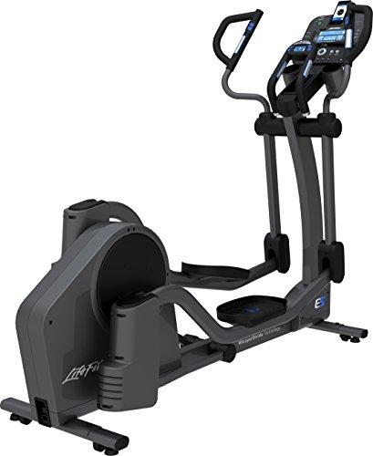 Life Fitness E5 Track and Cross-Trainer, Titanium