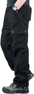 Minetom Pantaloni Uomo da Lavoro Cargo Pantaloni Tattici per Esterni con Pantaloni Multitasche Ad Asciugatura Rapida