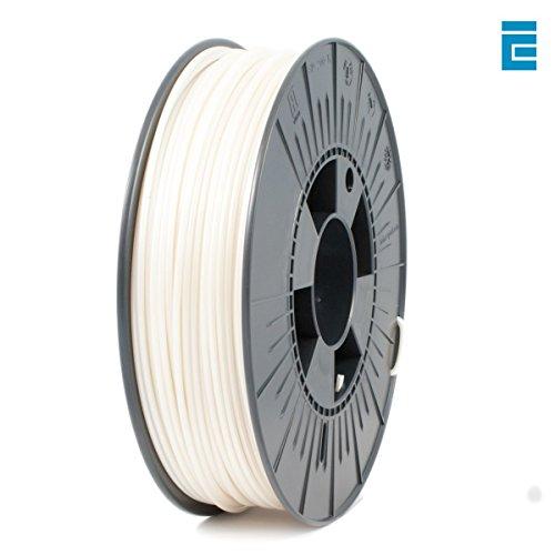 ICE Filaments ICEFIL3PLA131 filamento PLA,2.85mm, 0.75 kg, Wishful White