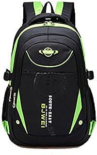 School Backpack For Boys Kids Elementary School Bags Bookbag Green