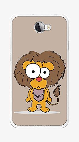 Tumundosmartphone Funda Gel TPU para Huawei Y5 II / Y6 II Compact diseño Leon Dibujos