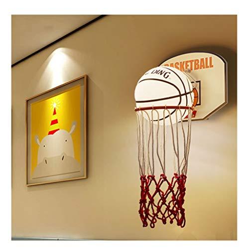 Wandleuchten LED-Wandleuchte, Kinderwandleuchte nette Karikatur Kreative Basketball Nachttischlampe Schlafzimmer Modern Fashion-Raum-Wand-Lampe [Energieklasse A ++] (Color : Warm light)